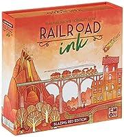 CMON RRI002 Rri002 Railroad Ink: Blazing Red [並行輸入品]