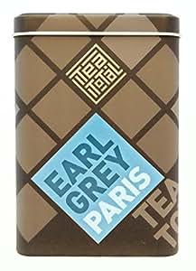 Tea total (ティートータル) / アールグレイ パリス 三角ティーバッグ 20包入り缶 ニュージーランド産 (紅茶 フレーバーティー) [並行輸入品]