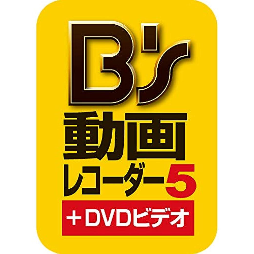 休憩する慣れているもつれB's 動画レコーダー 5+DVDビデオ (最新)|win対応|ダウンロード版