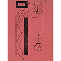 Picabia Dada Movement Number 5 Sketch Diagram Extra Large Wall Art Print Premium Canvas Mural スケッチ壁