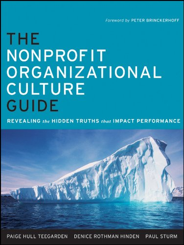Download The Nonprofit Organizational Culture Guide: Revealing the Hidden Truths That Impact Performance 0470891548
