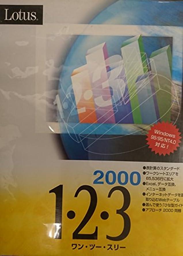 後世匿名キャプションLotus 1・2・3 2000