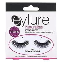Eylure Naturalites 101夜は3のマルチまつ毛パックを着用します (Eylure) (x2) - Eylure Naturalites 101 Evening Wear Multi Lashes Pack of 3 (Pack of 2) [並行輸入品]