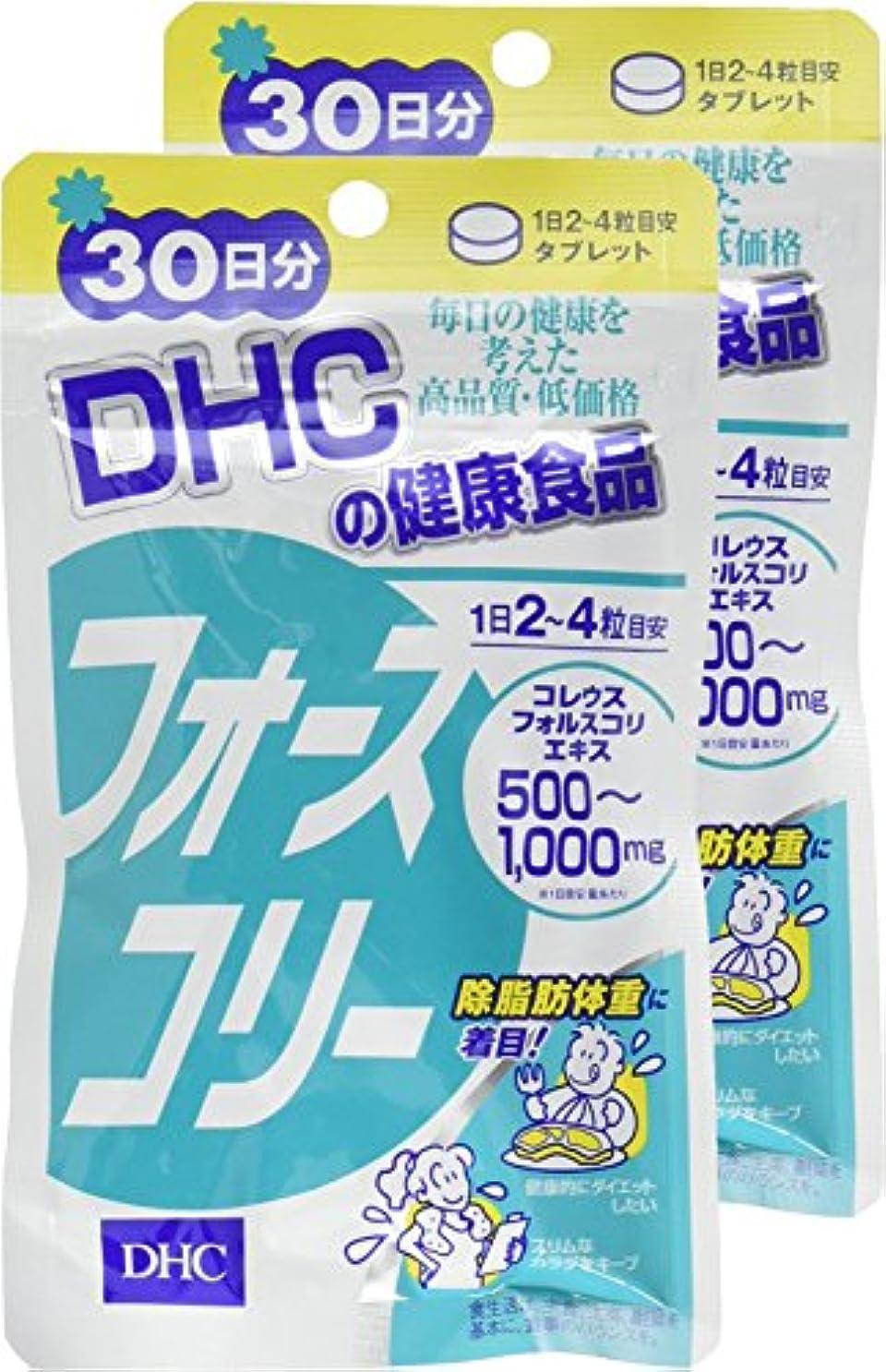 ソロプレゼント支払うDHC フォースコリー 30日分 120粒 ×2個セット