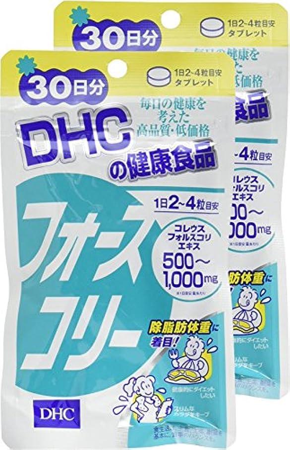 薄い消費寄付DHC フォースコリー 30日分 120粒 ×2個セット