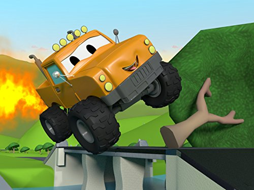 カーシティーにいる、列車のトロイとベビートムが橋を修理!& トラクターのベンが泥にはまっちゃった!|子供向け自動車&トラックアニメ