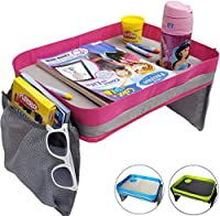 Kids旅行トレイ – カーシートLap Tray for Children & Toddlers – PerfectアクティビティSnack & Playトレイfor Short Road TripsまたはLong Journey P-LT-1