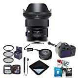 Sigma 24mm f / 1.4DG HSM Artレンズfor Canon EOS DSLR、USA–Bundle with 77mmフィルタキット、DSLRフォローフォーカス、ラック..
