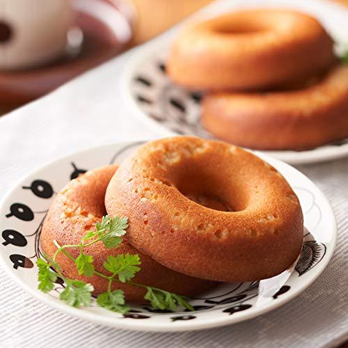 低糖質 焼きドーナツ プレーン 5個 糖質オフ 糖質制限 低糖パン 低糖質パン 糖質 食品 糖質カット 健康食品 健康 低糖工房 糖質制限やダイエットにおすすめ! 【糖質4.6g/100g】 低糖質ドーナツ