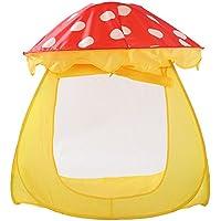 llzj Children Play Tent House CastleプリンセスPrinceインドアアウトドア使用Portable Folding Carry CubbyケースPlayground登山ストレージおもちゃゲームtent-0327