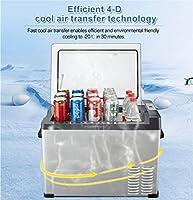12V車の冷蔵庫ポータブルカー用コンプレッサー冷蔵庫冷凍庫とホーム25literデュアル方向オープニング