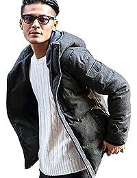 (キャバリア)CavariA メンズ フード付きダウンジャケットダウン【+】