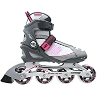 No Fear Womens Ladies Flare Inline Skates Roller Blades Four Wheel Sports