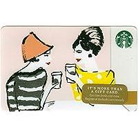 スターバックス スタバ カード 2014 ホリデー99 No.47 『60年代の女性たちのコーヒーブレイク』海外版