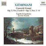 Geminiani: Concerti Grossi Op. 3, Nos. 5 & 6