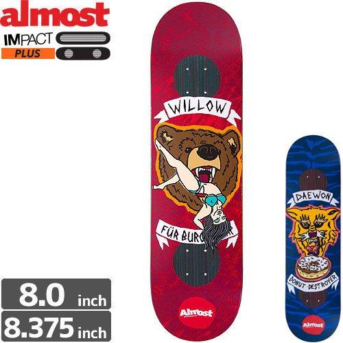 Almost Skateboards(オールモストスケートボード)スケートボードデッキ