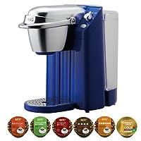 【K-Cup コーヒー6個セット】キューリグ BS-200L オーシャンブルー ネオトレビエ 家庭用抽出機 [K-Cupパック専用コーヒーマシン][BS200L][KEURIG]
