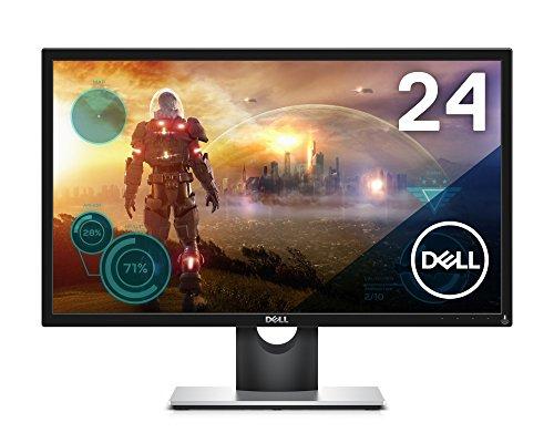 Dell ゲーミングディスプレイ モニター SE2417HG 23.6インチ/FHD/TN非光沢/2ms/HDMIx2,VGA/フリッカーフリー/3年間保証