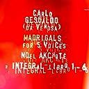 Madrigali Sesto Libro for Five Voices: VI-10 Io pur respiro in cosi gran dolore.