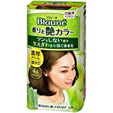 【花王】ブローネ 香りと艶カラー クリーム 4A:アッシュブラウン 80g ×20個セット