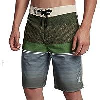"Hurley Men's Phantom Stretch 18"" Striped Cove Boardshorts"