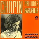 アルゲリッチ ショパン・26の前奏曲、舟歌、英雄ポロネーズ、スケルツォ第2番 Argerich : Chopin 26 Preludes ・ Barcarolle ・ Polonaise As-dur ・ Scherzo Nr. 2 B-moll [独 DGG]