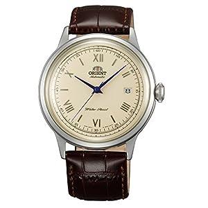 [オリエント]ORIENT 自動巻 クラシックオートマチック ローマ 海外モデル 国内メーカー保証付き Bambino(バンビーノ) 新型 クリームイエロー SAC00009N0 腕時計