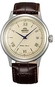 [オリエント]ORIENT 自動巻 クラシックオートマチック ローマ 海外モデル 国内メーカー保証付き Bambino(バンビーノ)新型 クリームイエロー SAC00009N0 腕時計