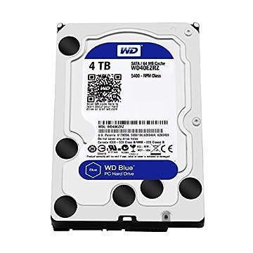 WD HDD 内蔵ハードディスク 3.5インチ 4TB WD Blue WD40EZRZ-RT2 SATA6Gb/s 5400rpm 2年保証
