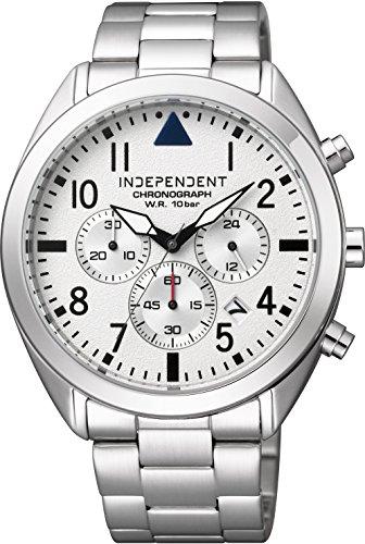 [シチズン]CITIZEN 腕時計 INDEPENDENT インディペンデント Timeless Line Chronograph BR1-412-13 メンズ