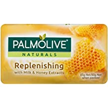 Palmolive Naturals Bar soap Replenishing With Milk & Honey Extracts, 90 g, Pack of 4