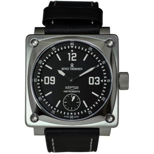[レヴュートーメン]REVUE THOMMEN 腕時計 AIRSPEED 10 INSTRUMENT 16700.3537 メンズ 【正規輸入品】
