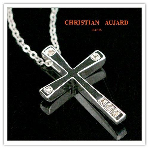 6ダイヤモンド クロス ペンダント&ネックレス AJ-32 クリスチャン・オジャール