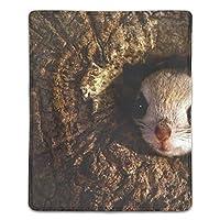 マウスパッド 防水 耐久性が良い 滑り止めゴム底 滑りやすい表面 マウスの精密度を上がる Musteline哺乳類イタチPolecat dent歯類