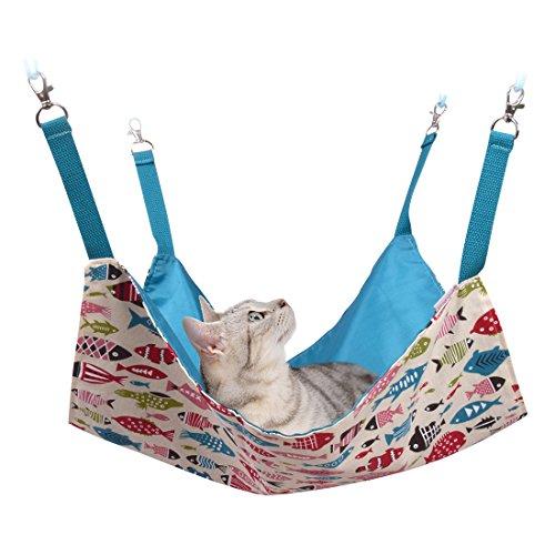 猫 ハンモック Blueekin
