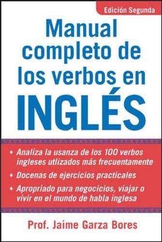 Download Manual Completo De Los Verbos En Ingles: Complete Manual of English Verbs, Second Edition 0071444963