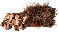Zagone Studios F1002 Natural Latex Compound Werewolf Feet, Brown