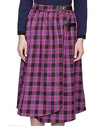 (アリスズピッグ) Alice's Pig スカート レディース タータンチェック ラップ Dawn's Django M
