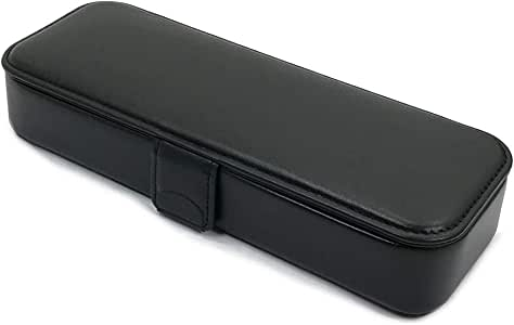 コブ/COBU 筆箱マグネットL(牛革製) マグネット開閉式 ブラック C14BK 小泉製作所