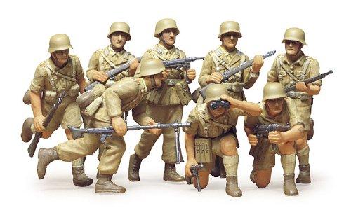 1/35 ミリタリーミニチュアシリーズ No.37 ドイツ歩兵セット 「アフリカ・コーア」 35037