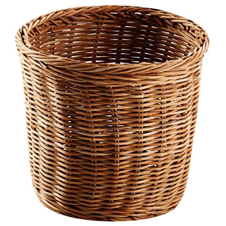バイオレット幻想的故障中SMMRB 植物籐貯蔵バスケット紙バスケット乾燥花バスケット装飾デザインスタイルの収納バスケット、サイズオプション (サイズ さいず : 13*13*10cm)