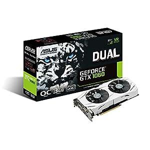 ASUS NVIDIA GeForce GTX1060搭載ビデオカード オーバークロック メモリ3GB DUAL-GTX1060-O3G