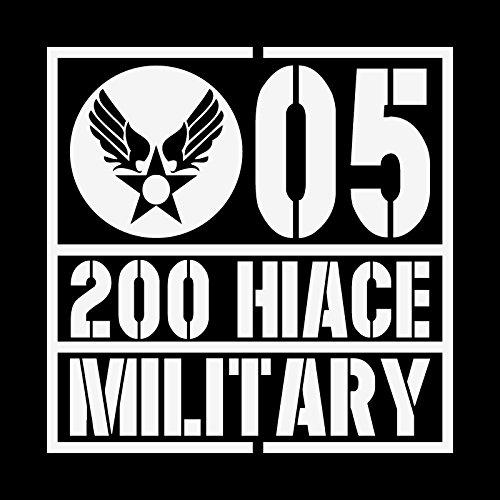 ミリタリー 200 HIACE 200 ハイエース カッティ...