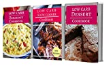 Low Carb Cookbook Box Set: Three Low Carb Diet Cookbooks For Losing Weight And Burning Fat (English Edition)