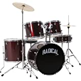 Cannon RAD5WR 5-Piece Drum Set [並行輸入品]