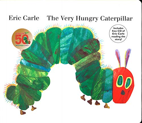 The Very Hungry Caterpillar: board book & CDの詳細を見る