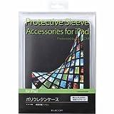 ELECOM iPad ウレタンカバー 液晶保護フィルム付き クリア AVA-PA10UCCR