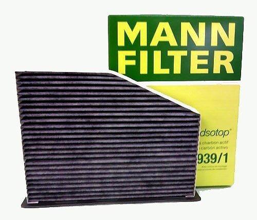MANN エアコンフィルター (フォルクスワーゲン/ゴルフ) 活性炭入り消臭効果大 CUK 2939...