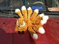 FidgetGear 模造ぬいぐるみ九尾狐人形神話コレクショントイガールズキッズコスプレ 淡い茶色
