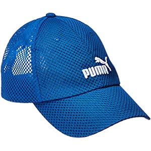 (プーマ)PUMA ランニングウェア トレーニング メッシュキャップ 021596 [ジュニア] 021596 05 ターキッシュ シー/ホワイト (05) YT
